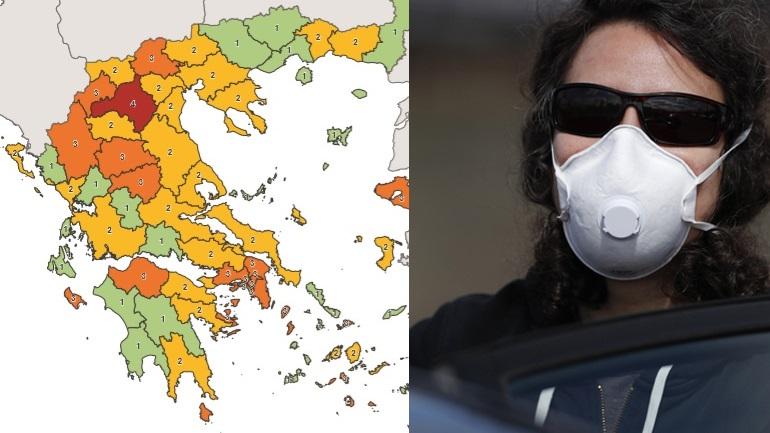 Απαγόρευση κυκλοφορίας και μάσκα: Σε ποιες περιοχές της χώρας εφαρμόζονται οι νέοι περιορισμοί