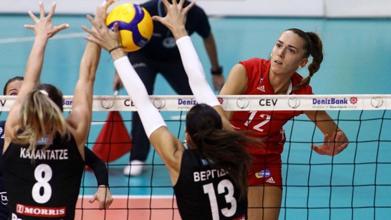 Volley League γυναικών: Ο Ολυμπιακός νικητής στο ντέρμπι, 3-2 τον ΠΑΟΚ