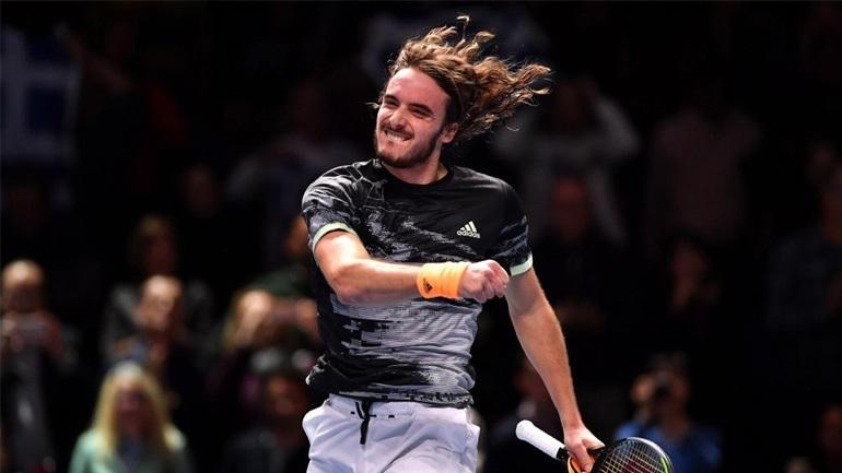 Τένις: Νίκη-πρόκριση για τον Τσιτσιπά στη Βιέννη