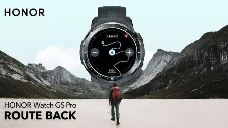HONOR Watch GS Pro: Διαθέσιμο στην Ελλάδα το smartwatch που προστατεύει τον χρήστη
