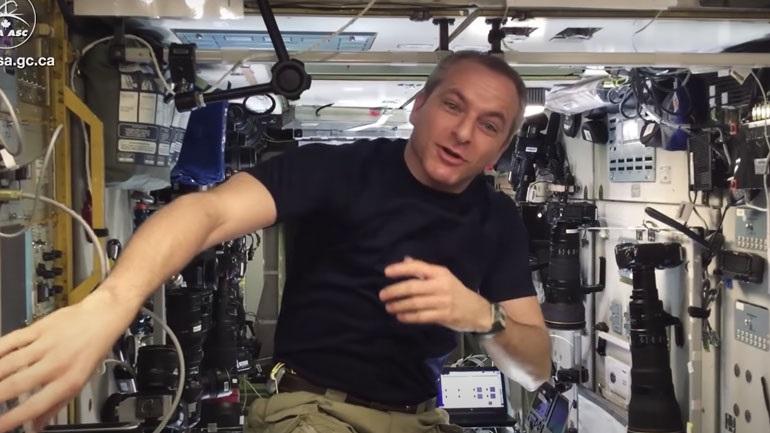 Πώς ζυγίζονται οι αστροναύτες στο διάστημα