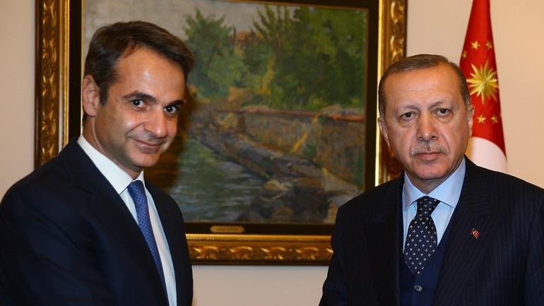 Ο Ερντογάν ευχαρίστησε τον Μητσοτάκη στο Twitter - «Έτοιμη η Τουρκία να βοηθήσει την Ελλάδα»