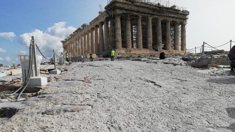 Ανακοίνωση του υπουργείου Πολιτισμού για τις διαδρομές ΑμεΑ στην Ακρόπολη