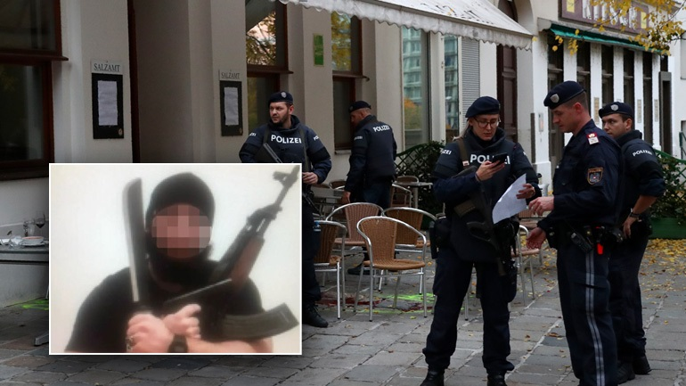 Το Ισλαμικό Χαλιφάτο ανέλαβε την ευθύνη για το μακελειό στη Βιέννη