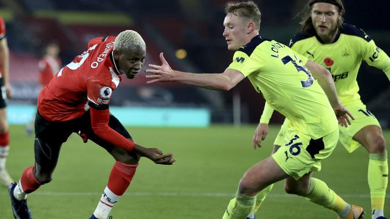 Αγγλία: Στην κορυφή η Σαουθάμπτον, 2-0 τη Νιούκαστλ