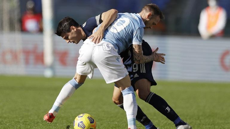 Ισόπαλες 1-1 Λάτσιο και Γιουβέντους