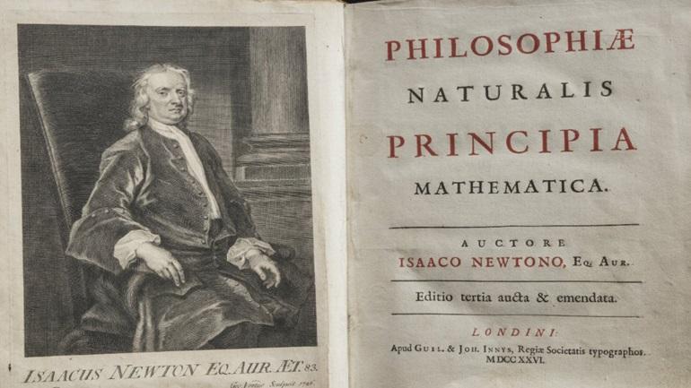 Ανακαλύφθηκαν άγνωστα αντίτυπα του εμβληματικού έργου «Principia» του Νεύτωνα