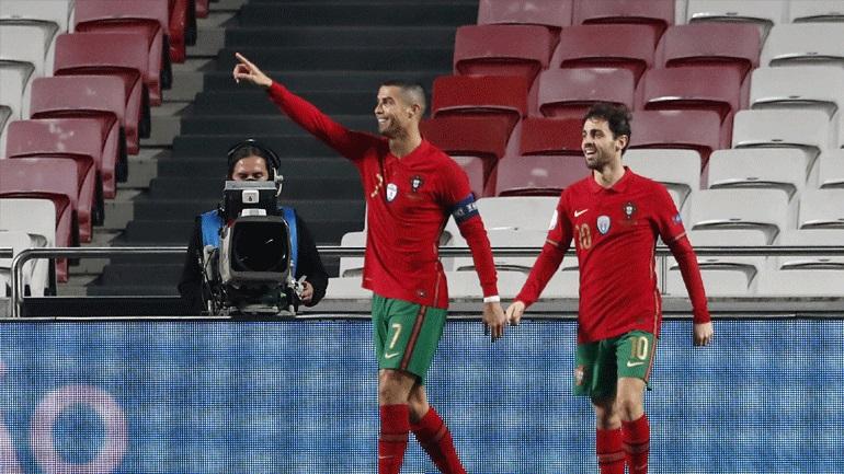 Διεθνή φιλικά: Επιστροφή με γκολ στην Εθνική Πορτογαλίας για τον Κριστιάνο Ρονάλντο