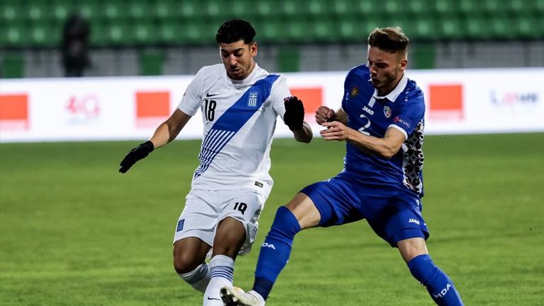 Μολδαβία-Ελλάδα 0-2 (Δεύτερο ημίχρονο)