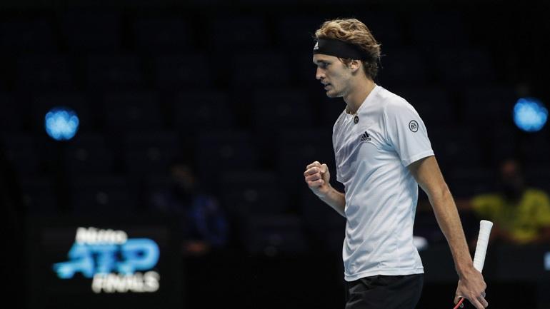 ATP Finals: «Ζωντανός» για την πρόκριση ο Ζβέρεφ, 2-1 τον Σβάρτσμαν