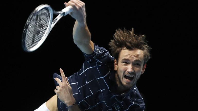 ATP Finals: Αήττητος ο Μεντβέντεφ, 2-0 τον Σβάρτσμαν