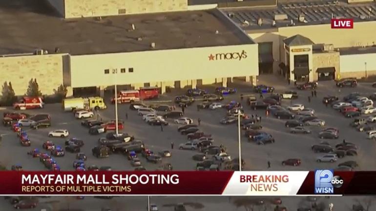 Οκτώ τραυματίες από πυροβολισμούς μέσα σε εμπορικό κέντρο κοντά στο Μιλγουόκι