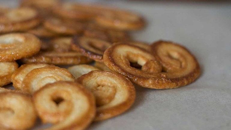 Αφράτα μπισκότα παλμιέ