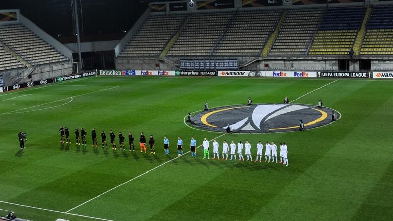 H αποστολή της Ζόρια Λουχάνσκ για το ματς με την ΑΕΚ