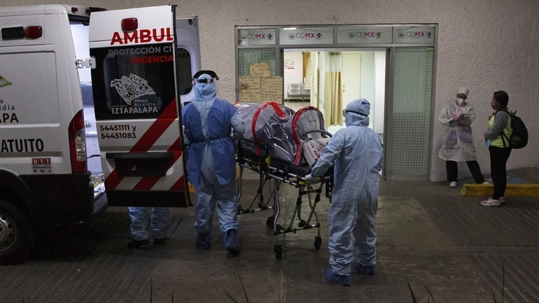 Covid-19: 645 θάνατοι το τελευταίο 24ωρο στο Μεξικό