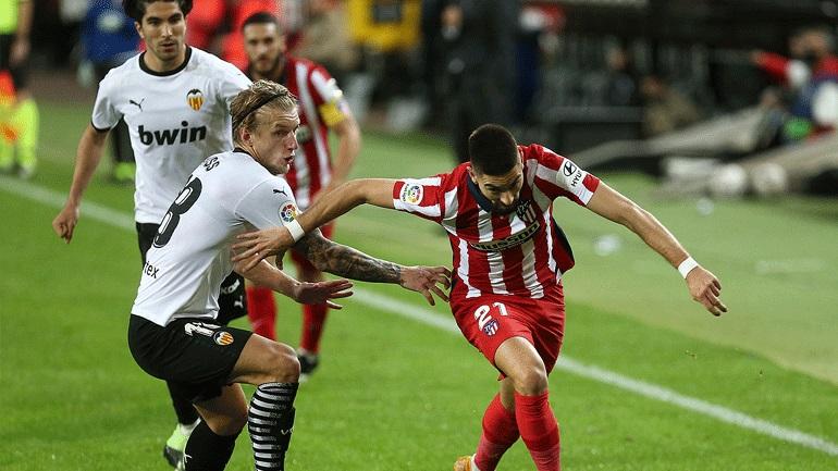 Iσπανία : Πέρασε από το «Μεστάγια» η Ατλέτικο, 1-0 τη Βαλένθια