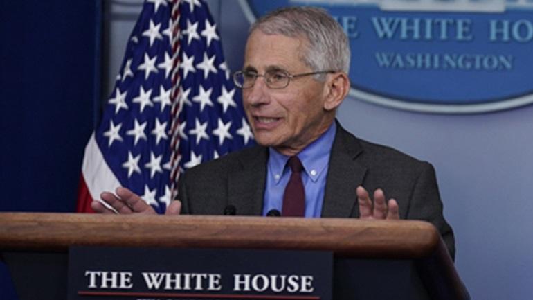 ΗΠΑ: Για εκτόξευση κρουσμάτων προειδοποιεί ο δρ Άντονι Φάουτσι