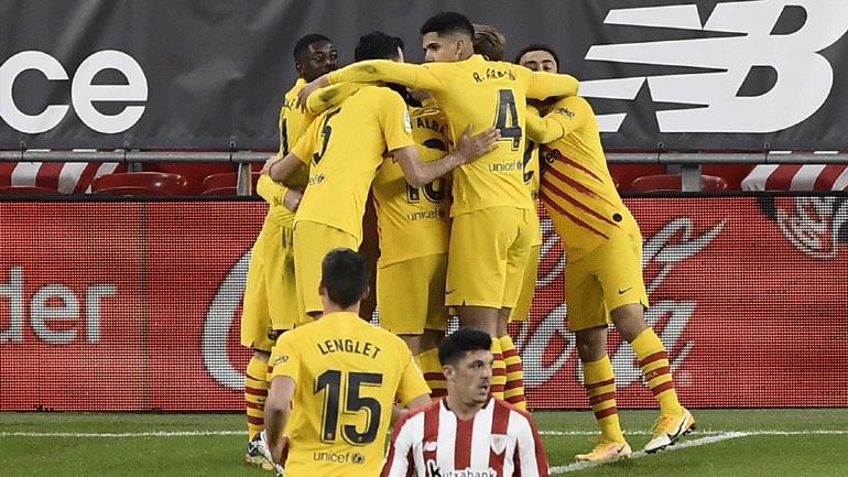 Ισπανία: Με ανατροπή η Μπαρτσελόνα, 3-2 την Μπιλμπάο στο  «Σαν Μαμές»