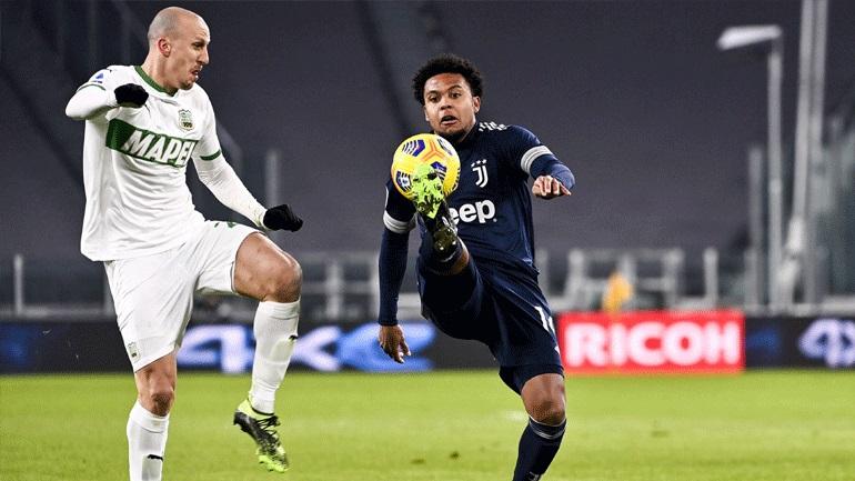 Ιταλία: Καθάρισε στο τέλος η Γιουβέντους, 3-1 τη Σασουόλο