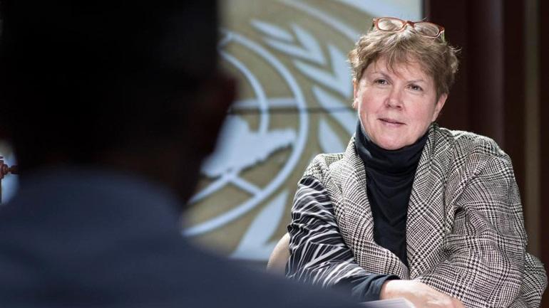 Ο Αναστασιάδης συναντιέται με τον Ειδικό Απεσταλμένο του Γενικού Γραμματέα του ΟΗΕ για την Κύπρο Jane Ein Lut