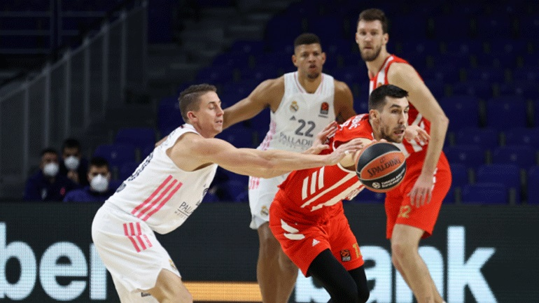 Euroleague: Άλωσε τη Μαδρίτη ο Ερυθρός Αστέρας, 79-77 τη Ρεάλ