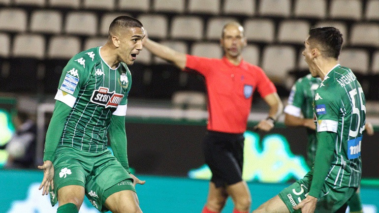 Tέταρτη συνεχόμενη νίκη για τον Παναθηναϊκό, 2-0 τον ΟΦΗ