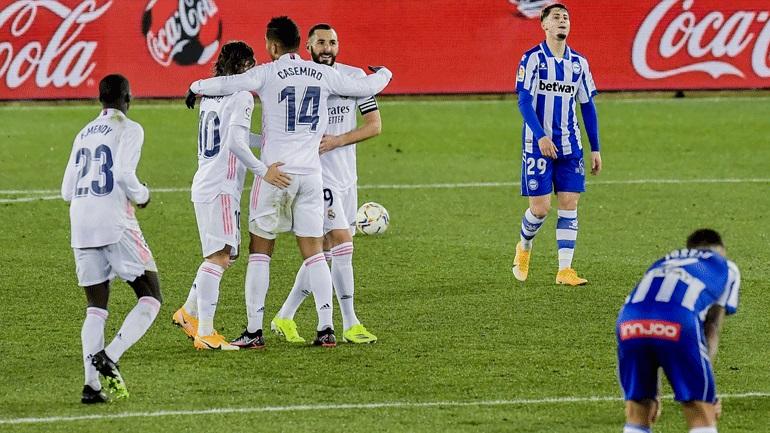 Ισπανία: Η Αλαβές πλήρωσε τα... σπασμένα του αποκλεισμού της Ρεάλ, με 4-1 νίκησαν οι Μαδριλένοι