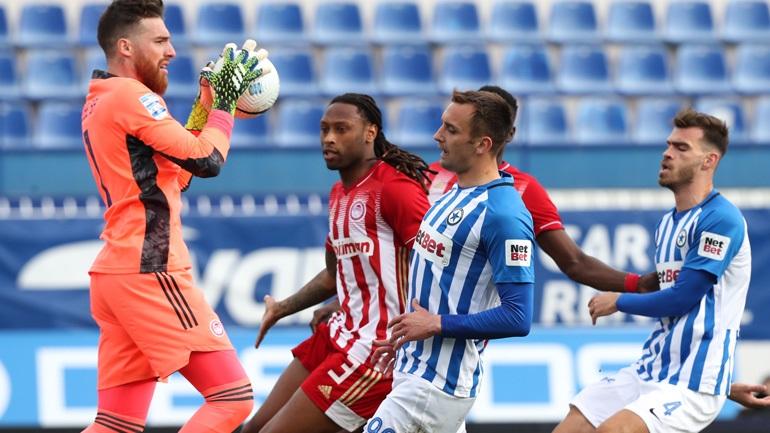 Πέρασε νικηφόρα (1-0) από το Περιστέρι ο Ολυμπιακός, φωνάζει για τη διαιτησία ο Ατρόμητος