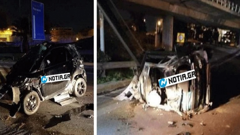 Car accident in Poseidon – Two young children left their last breath on the asphalt