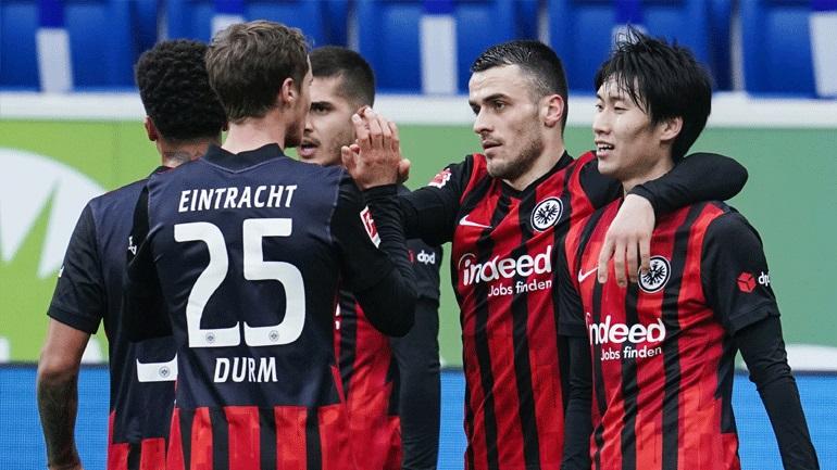 Γερμανία: Εκτός έδρας νίκη για την Άιντραχτ, 3-1 τη Χόφενχαϊμ