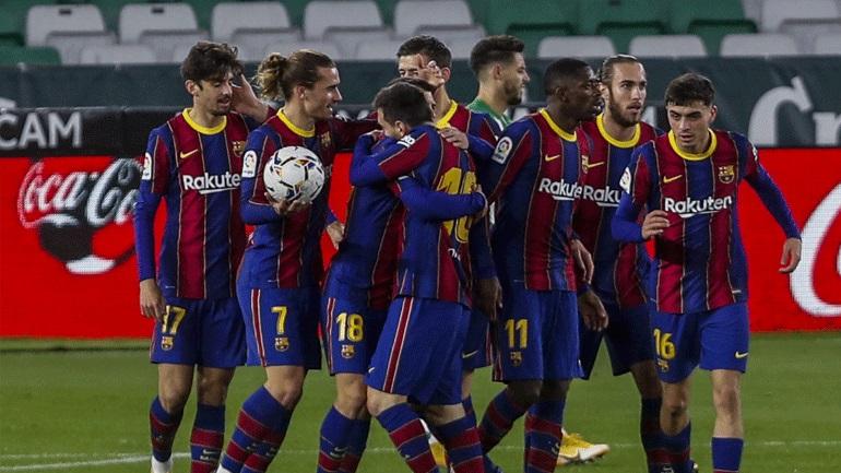 Ισπανία: Αγχώθηκε αλλά νίκησε η Μπαρτσελόνα, 3-2 την Μπέτις