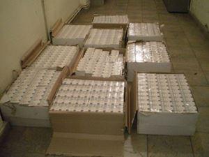 Προσπάθησε να περάσει 5.000 πακέτα τσιγάρα από τον Προμαχώνα