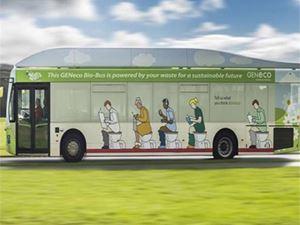 Αυτό είναι το πρώτο λεωφορείο που κινείται με ανθρώπινα απόβλητα