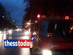 Θεσσαλονίκη: Πυρκαγιά ξέσπασε σε ισόγειο διαμέρισμα