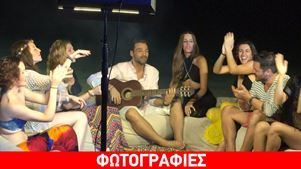 Backstage από το νέο video clip του Αλέξανδρου Νότα