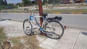 Ποδηλάτης κατέληξε στο νοσοκομείο