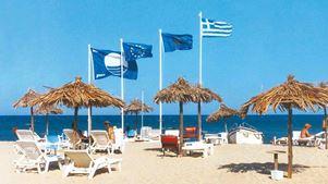 Χαλκιδική: Σήμερα ανακοινώνονται οι «Γαλάζιες Σημαίες»