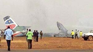Αεροσκάφος συνετρίβη στο N.Σουδάν