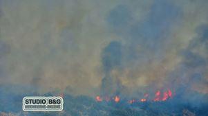 Αργολίδα: Επικίνδυνη πυρκαγιά στα Δενδρά Μιδέας του Δήμου Ναυπλιέων
