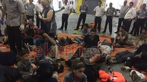 Σε πλοίο της γραμμής οι μετανάστες που διασώθηκαν ανοιχτά της Κρήτης