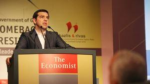 Παρέμβαση Τσίπρα στο συνέδριο του Economist