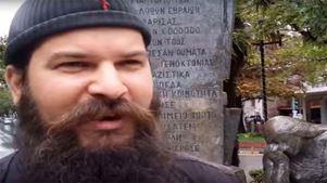"""Η δημοτική αρχή της Λάρισας καταδικάζει τις πράξεις βεβήλωσης μνημείου από τον """"μοναχό Κλεομένη"""""""
