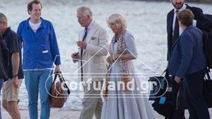 Στην Κέρκυρα ο πρίγκιπας Κάρολος με την Καμίλα
