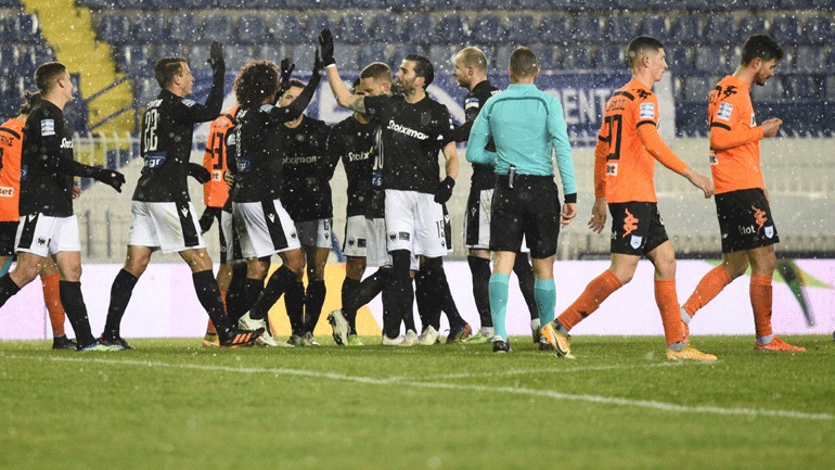 Επέστρεψε στις νίκες ο ΠΑΟΚ, 2-0 τον ΠΑΣ Γιάννινα στο Περιστέρι