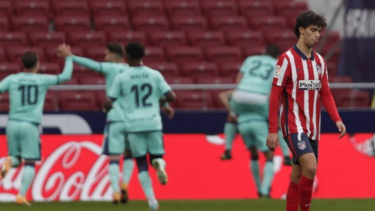 Ισπανία: Ήττα-σοκ για την Ατλέτικο με 2-0 από τη Λεβάντε στη Μαδρίτη