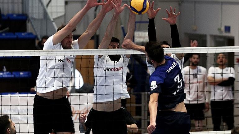 Volley League: Νίκη για την Κηφισιά, 3-2 τον ΠΑΟΚ
