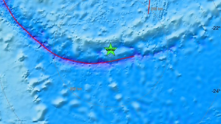 Σεισμός 5,4 Ρίχτερ στα νησιά Λόγιαλτι