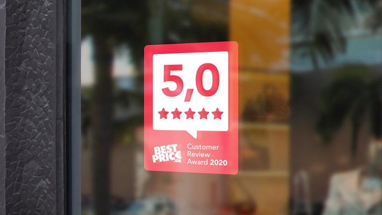 BestPrice Customer Review Awards 2020: Τα καλύτερα e-shops βάσει ικανοποίησης πελατών