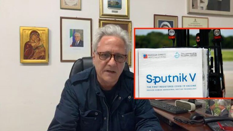 Ιταλός δήμαρχος σκέφτεται να αγοράσει από μόνος του το ρωσικό εμβόλιο