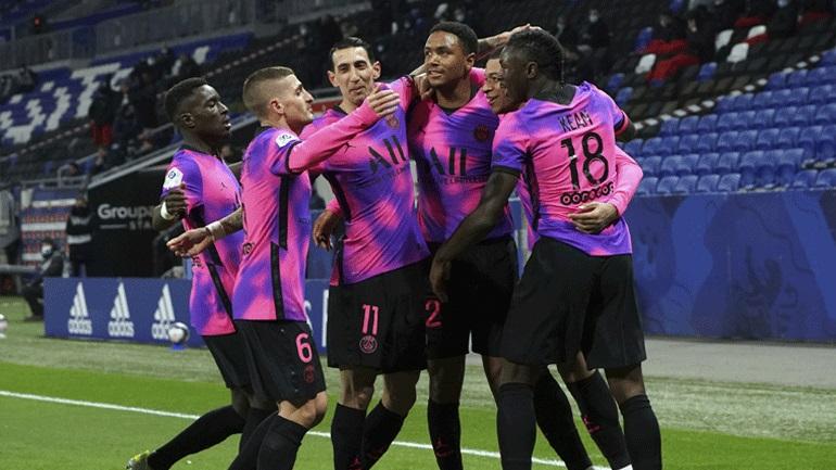 Γαλλία: Έπιασε κορυφή η Παρί Σεν Ζερμέν, 4-2 εκτός έδρας τη Λιόν